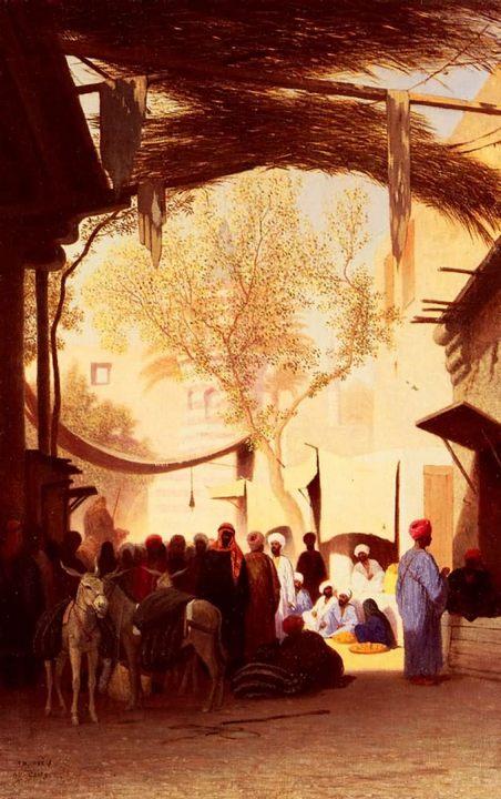 Базарный день в Каире :: Фрей Теодор Чарльз [ городской пейзаж ] - Арабский восток фото