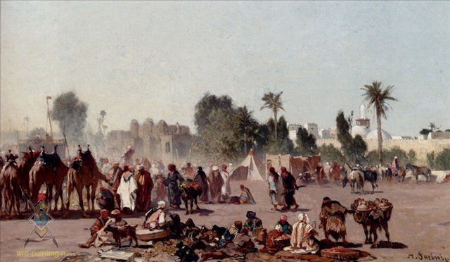 Уличные торговцы :: Альберто Пасини ( Италия ) [ Alberto Pasini ] - Арабский восток фото