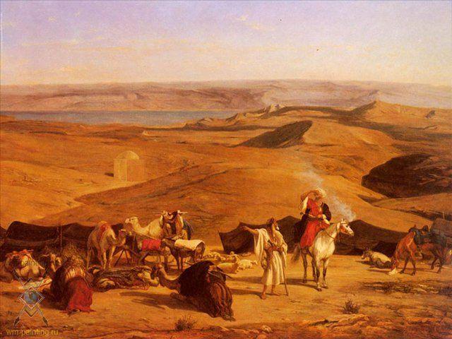 Лагерь в пустыне :: Альберто Пасини ( Италия ) - Арабский восток фото