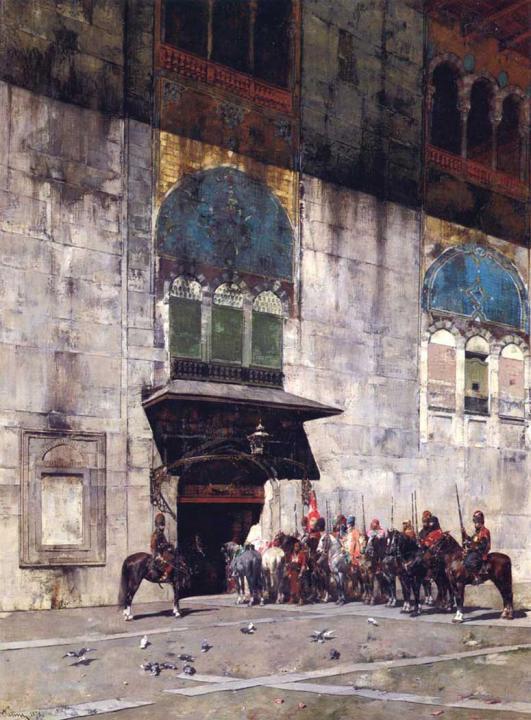 Эскорт Паши :: Альберто Пасини ( Италия - Арабский восток фото