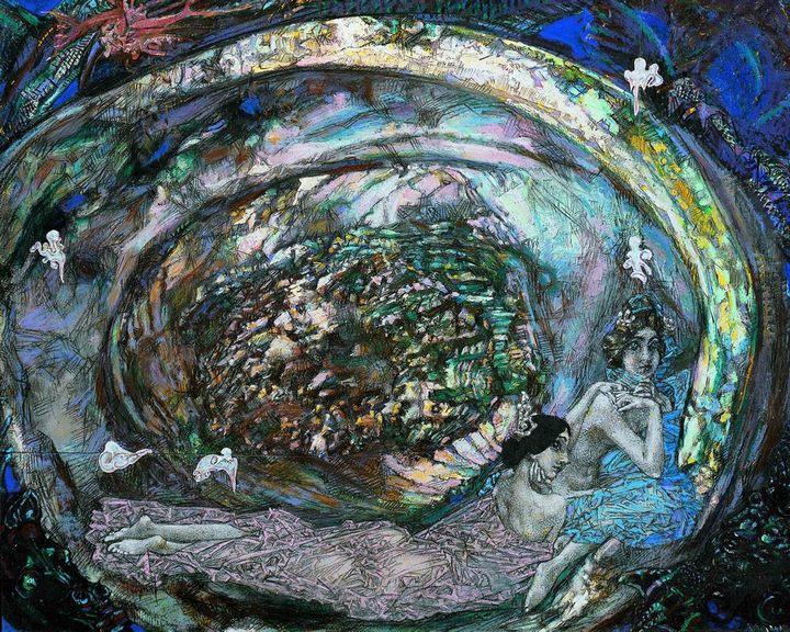 картина Жемчужина :: Врубель М.А. - Врубель Михаил Александрович ( Vrubel Michail ) фото