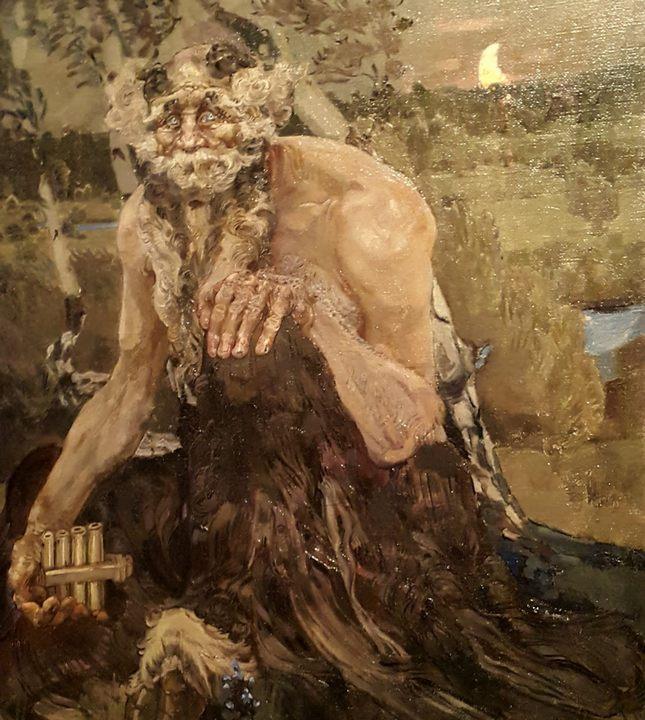 картина Пан :: Врубель М.А., описание - Vrubel Michail фото