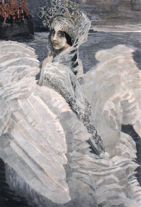 картина Царевна-Лебедь :: Врубель М.А. - Врубель Михаил Александрович ( Vrubel Michail ) фото