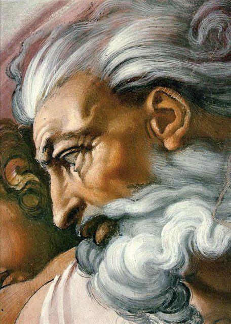 Сотворение Адама - Деталь фрески :: Микеланджело Буаноротти ( Италия ) - Фрески, монументальная живопись, роспись стен фото