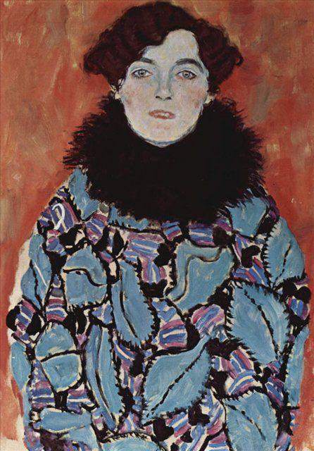 Портрет Иоганны Штауде :: Густав Климт (Австрия ) - Gustav Klimt фото