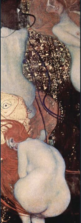 Золотые рыбки :: Густав Климт (Австрия ), картина ню, эротика в живописи  - Gustav Klimt (Климт Густав ) фото