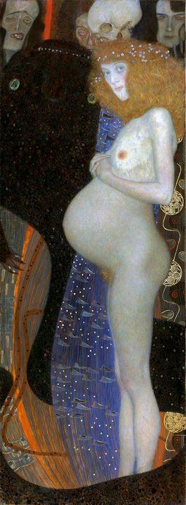 Надежда  :: Густав Климт (Австрия ), описание картины  - Gustav Klimt фото