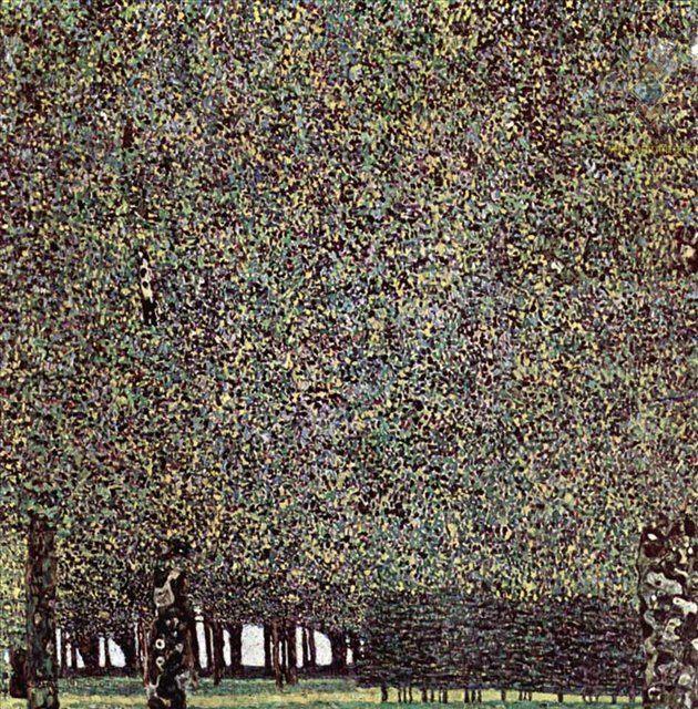 Парк :: Густав Климт (Австрия ) - Gustav Klimt фото