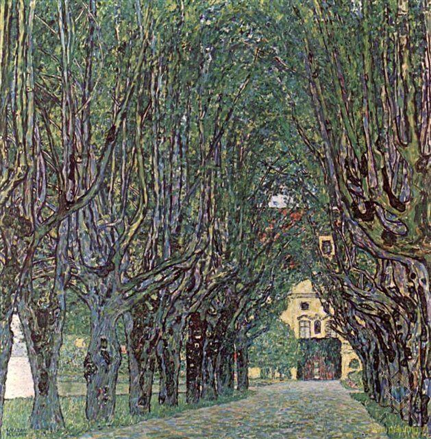 Дорога в парке замка Каммер :: Густав Климт ( Австрия ) - Gustav Klimt фото