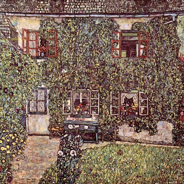 Дом Гвардабоски :: Густав Климт ( Австрия ) - Gustav Klimt фото