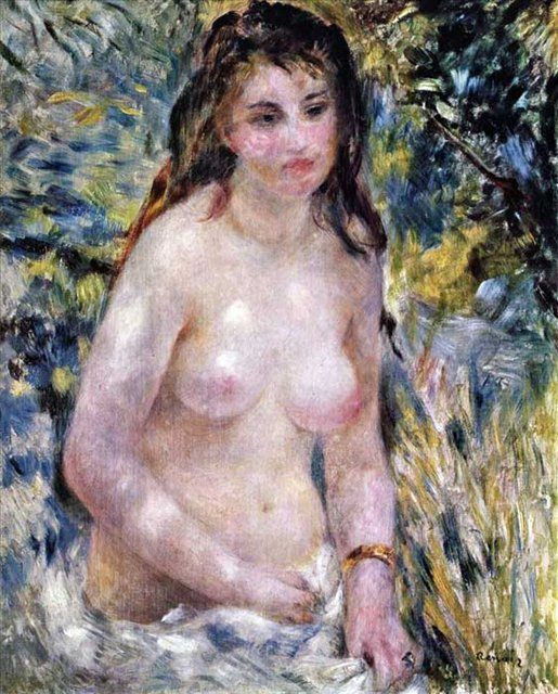 Обнаженная в солнечном свете :: Ренуа Пьер Огюст ( Франция ) - Pierre-Auguste Renoir фото