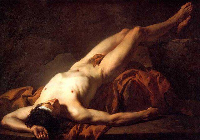 Обнажённый Гектор:: [ Musee Fabre, Montpellier, Languedoc, France ] - Картины ню, эротика в шедеврах живописи фото