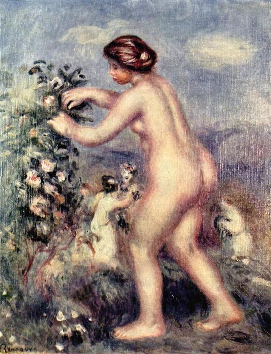 Обнажённые купальщицы Ренуара [ Ода к цветам (по Анакреону) ] :: Ренуар - Pierre-Auguste Renoir фото