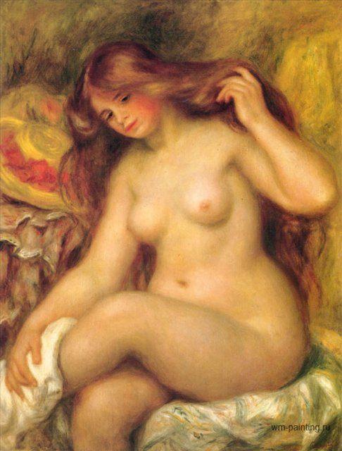 Обнажённая :: Ренуар Пьер Огюст ( Франция ) - Pierre-Auguste Renoir фото