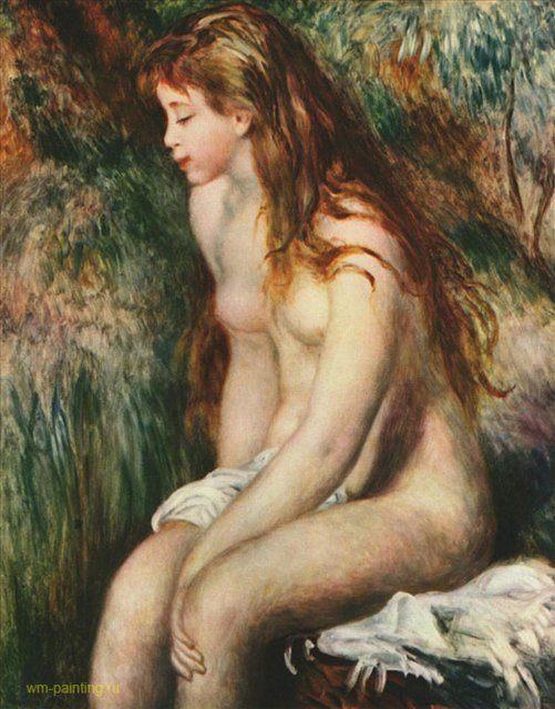 Купальщицы Ренуара, 2 часть :: Купальщица Ренуар Пьер Огюст ( Франция ) - Pierre-Auguste Renoir фото