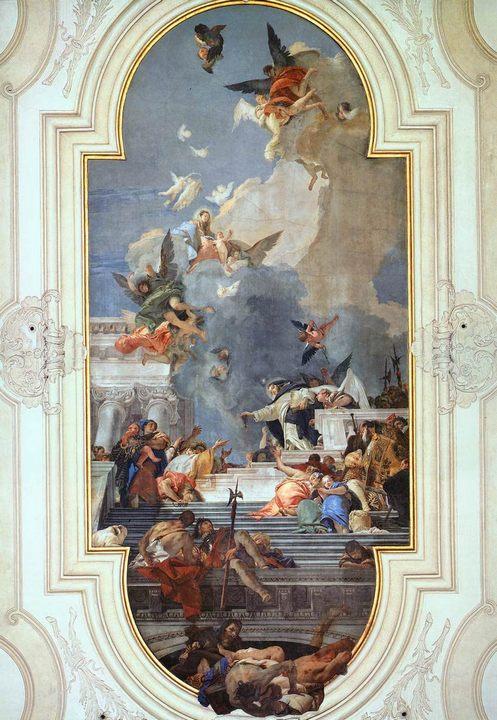 Чётки :: Джованни Баттиста Тьеполо ( Италия ) - Фрески, монументальная живопись, роспись стен фото