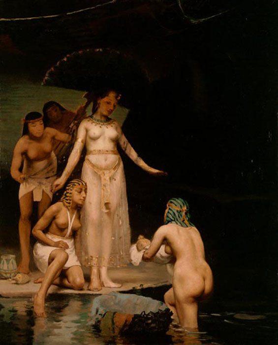спасение Моисея из Нила :: Поль Пил - Библейские сюжеты в живописи фото
