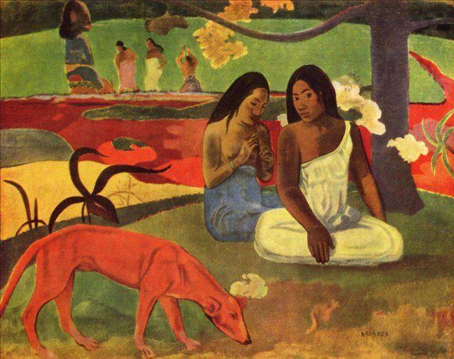 Ареареа (Озорная шутка)  :: Поль Гоген - Paul Gauguin фото
