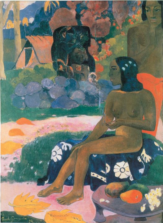 Vairaumati tei oa ( Её зовут Вайрумати )  :: Поль Гоген - Paul Gauguin фото