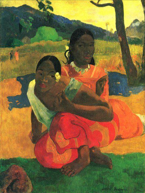 Гоген, Поль Nafea Faa I poipo (Когда ты выйдешь замуж)  :: Поль Гоген - Paul Gauguin фото