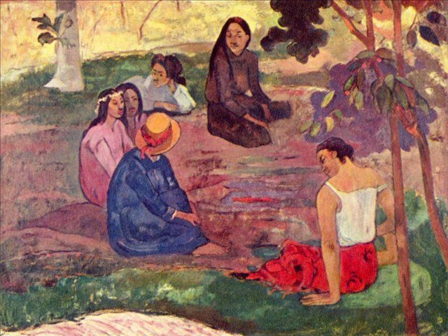 Parau Parau (Беседа)  :: Поль Гоген - Paul Gauguin фото