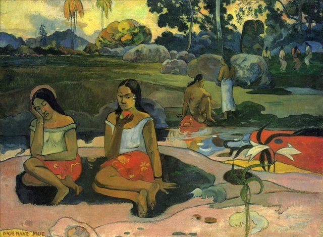 тайский пейзаж Наве Наве Мое (Источник пресной воды) :: Поль Гоген - Paul Gauguin фото