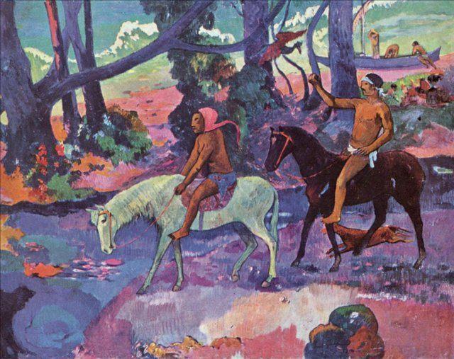 пейзаж <  Брод  > :: Поль Гоген - Paul Gauguin фото