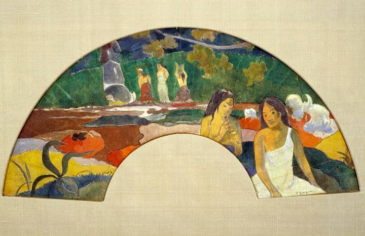 картина  < Aarearea, II (так же известна, как Радость, II) > :: Поль Гоген - Paul Gauguin фото