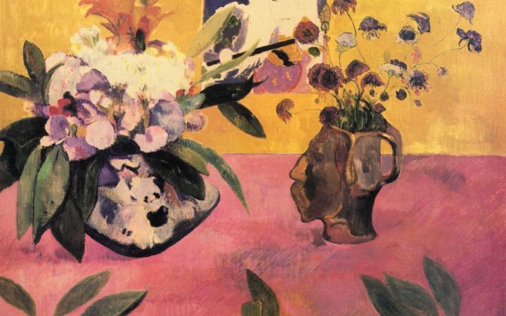 Натюрморт с японской гравюрой :: Поль Гоген - Paul Gauguin фото