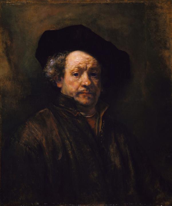 < Автопортрет > :: Харменс ван Рейн Рембрандт - Rembrandt фото