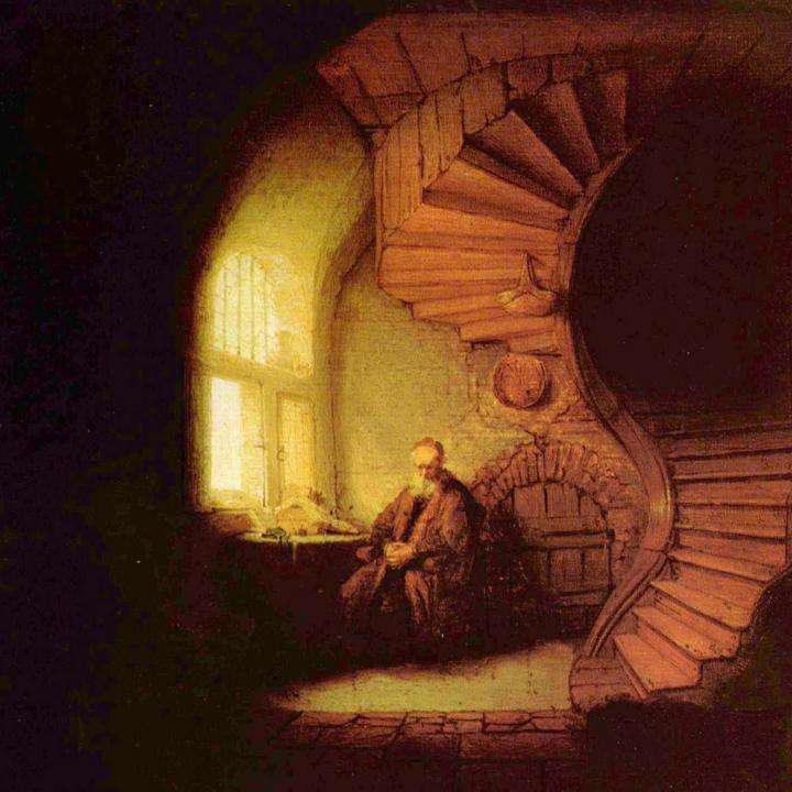 картина Философ :: Харменс ван Рейн Рембрандт - Rembrandt фото