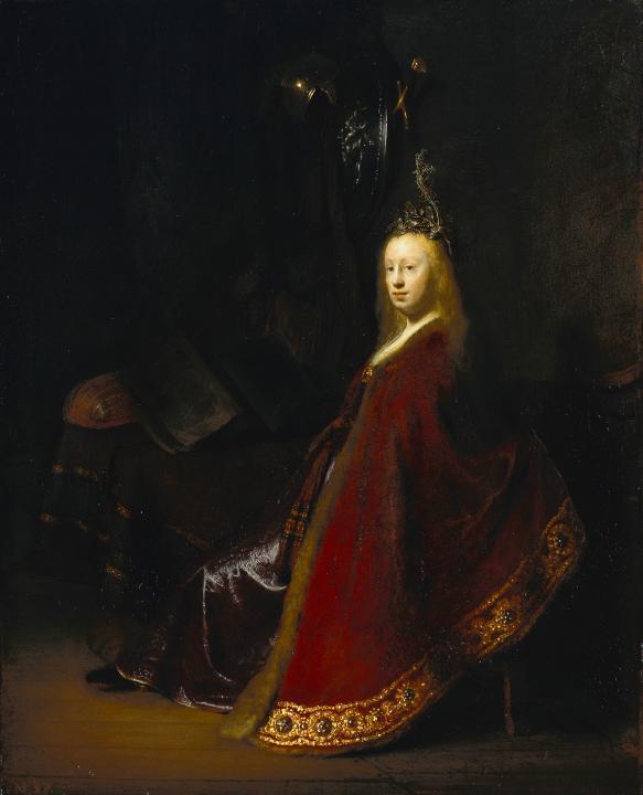 < Минерва > :: Харменс ван Рейн Рембрандт - Rembrandt фото