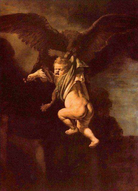 < Похищение Ганимеда > :: Харменс ван Рейн Рембрандт - Rembrandt фото
