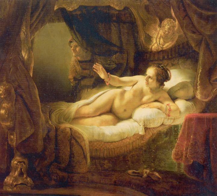 картина Даная :: Харменс ван Рейн Рембрандт - Rembrandt фото