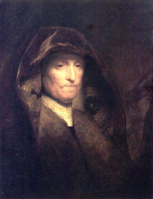 < Пожилая женщина (Мать художника > :: Харменс ван Рейн Рембрандт - Rembrandt фото