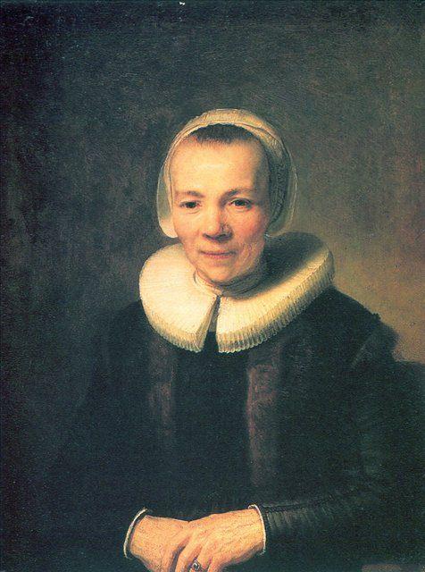 портрет Берта Мартенс, жена Германа Думера :: Харменс ван Рейн Рембрандт - Rembrandt фото