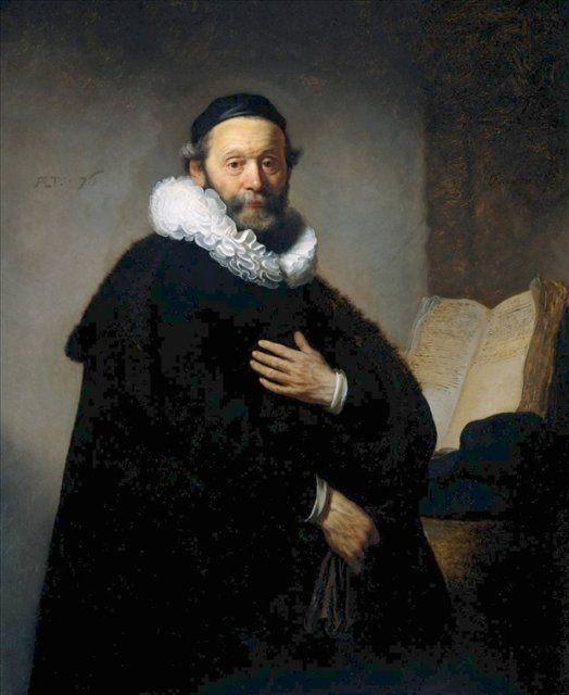< Йоханнес Уотенбогарт, министр > :: Харменс ван Рейн Рембрандт - Rembrandt фото
