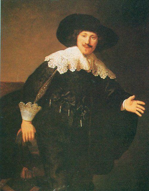 Мужской портрет 17 века :: Харменс ван Рейн Рембрандт - Rembrandt фото
