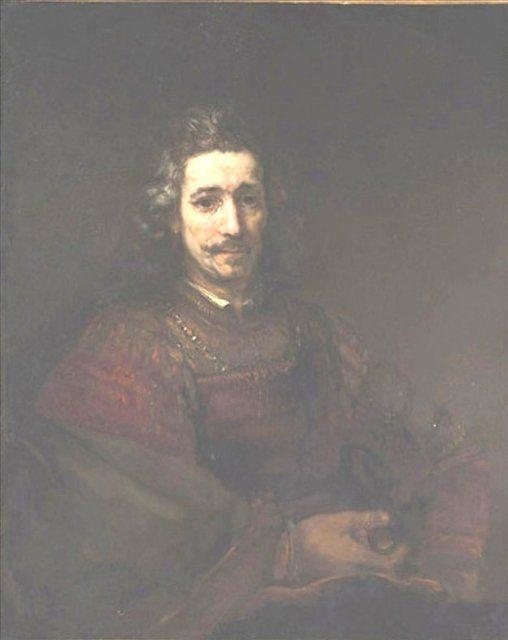< Мужчина с увеличительным стеклом > :: Харменс ван Рейн Рембрандт - Rembrandt фото