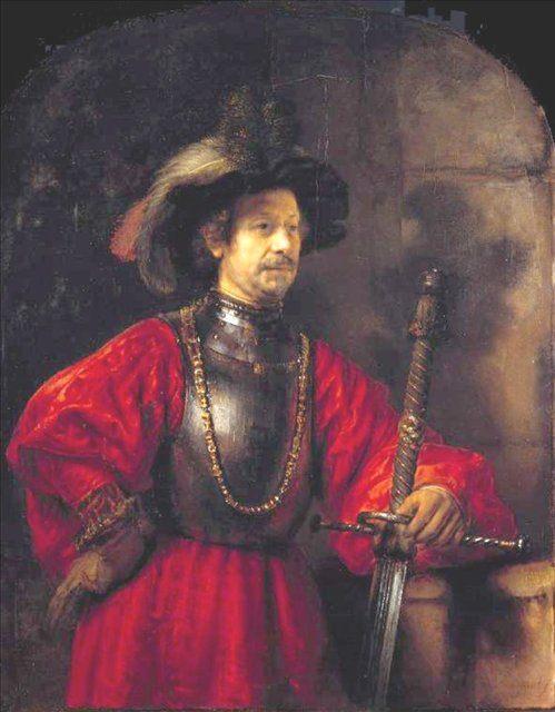 < Портрет мужчины в военной одежде > :: Харменс ван Рейн Рембрандт - Rembrandt фото