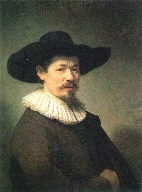 < Портрет Германа Думера > :: Харменс ван Рейн Рембрандт - Rembrandt фото