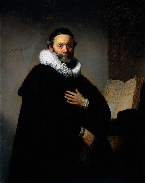 < Портрет Йоханнеса Уотенбогарта > :: Харменс ван Рейн Рембрандт - Rembrandt фото