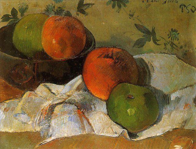 картина  < Натюрморт a l ami Jacob (для моего друга Жакоба) > :: Поль Гоген - Paul Gauguin фото