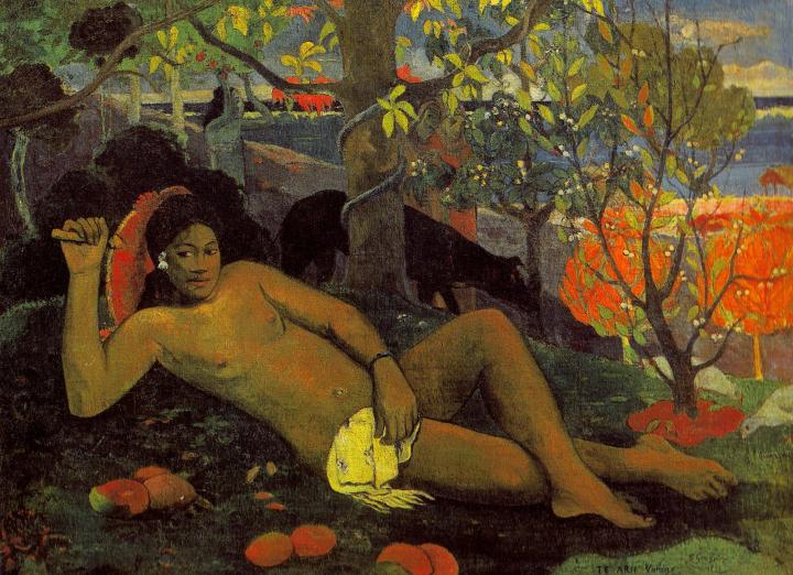 Te Arii Vahine (Жена короля) :: Поль Гоген - Paul Gauguin фото