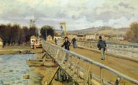 Alfred Sisley (Альфред Сислей) - Мост в Аржантёе