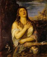 Tiziano Veccellio - Кающаяся Мария Магдалина