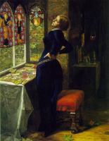 Millais, John Everett - Марианна