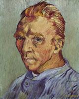Van Gogh - Хронология жизни Ван Гога ( на фото: Автопортрет)