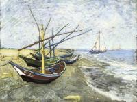 Van Gogh - Рыбачьи лодки в Сент-Мари