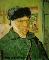 Автопортрет с перевязанным ухом, Ван Гог